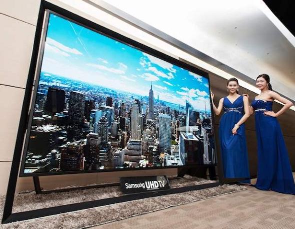 La tv 4K 110 pouces de Samsung