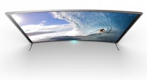 BRAVIA S90 4K Sony incurvé vue haut
